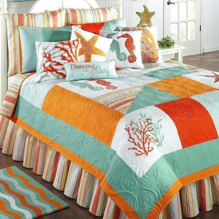 best bedroom ideas images on coastal bedding pertaining to modern household beach quilt sets remodel quilts collection for incredibl