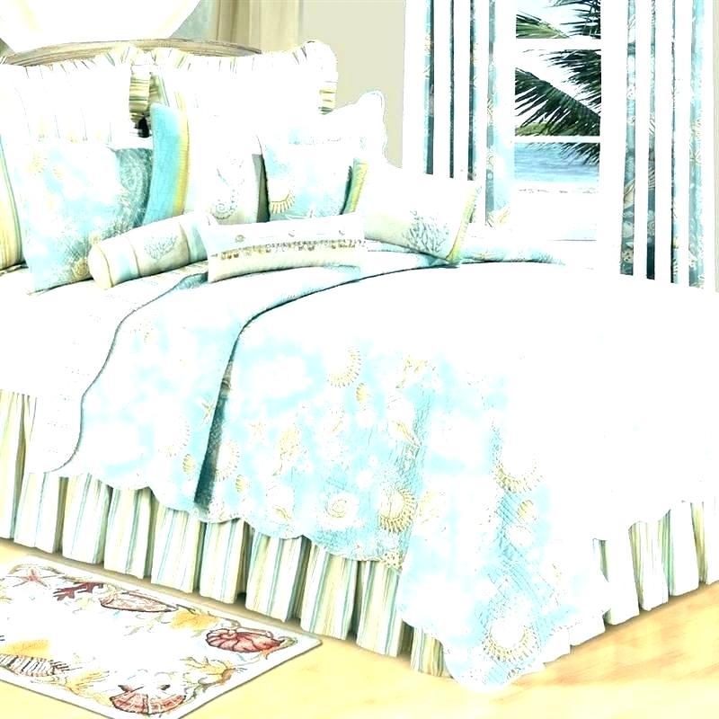 coastal living quilts duvet covers bedroom bedding home collection natural shells quilt cover