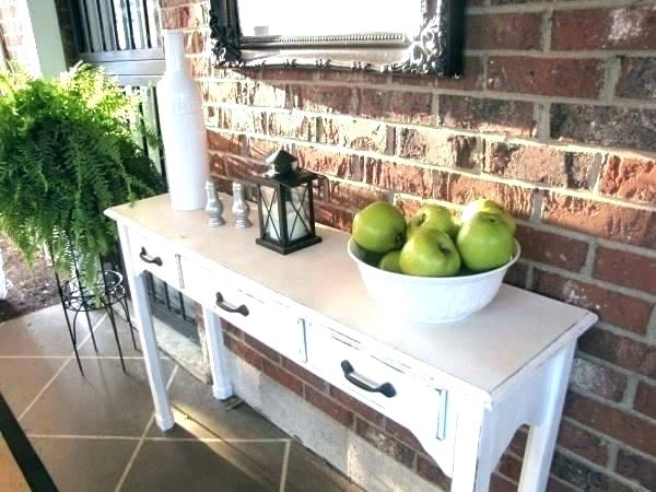 patio buffet table outdoor console with storage