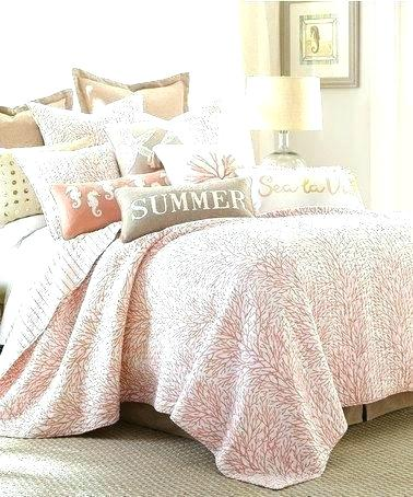 related post coastal bedding quilts natural shells quilt bedspreads image of comforter sets fabric beach