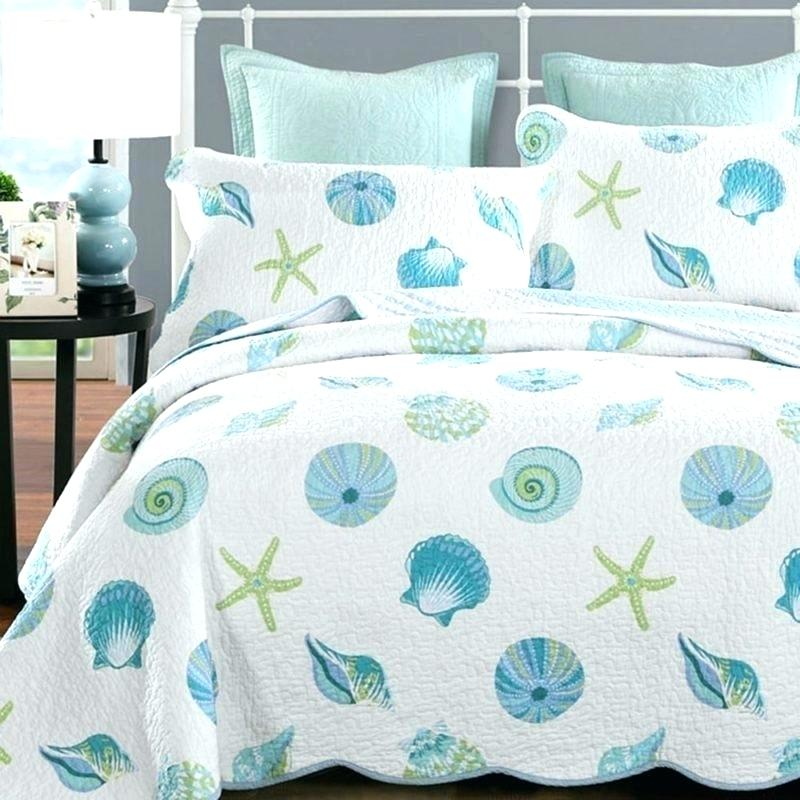 seashell beach bedding queen theme quilt coastal sets ultimate guide to themed quilts collection